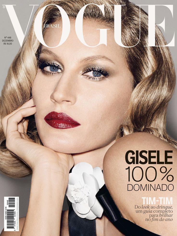 Gisele Bundchen by François Nars Vogue Brazil December 2015