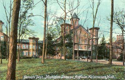 Kalamazoo Psychiatric Hospital - Female Department, about 1910 ...
