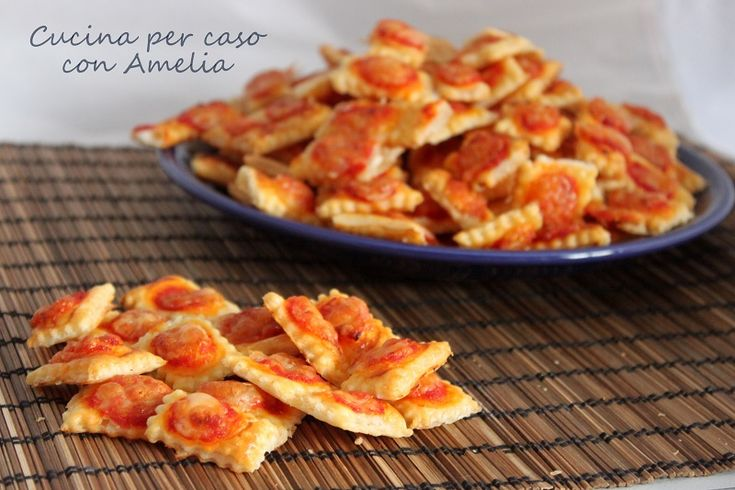 Salatini gusto pizza, ricetta finger food
