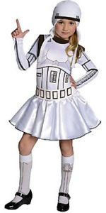 Licensed Star Wars Storm Trooper Girl Child Stormtrooper Star Wars Licen | eBay