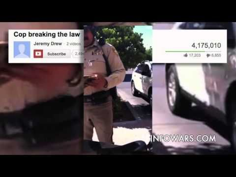 12 Year Old Boy Puts Cop in His Place - YouTube