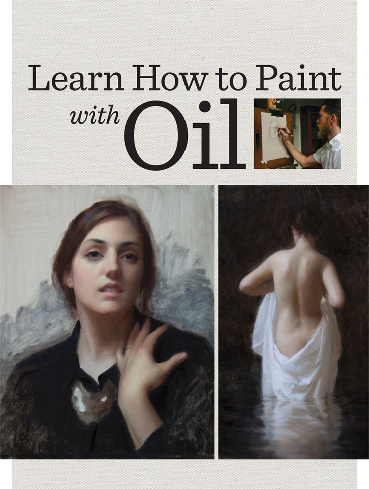 25 best oil painting tutorials ideas on pinterest oil for Oil painting instructions for beginners