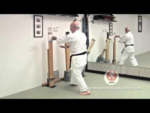 Makiwara Board Training Traditional Japanese Karate - YouTube