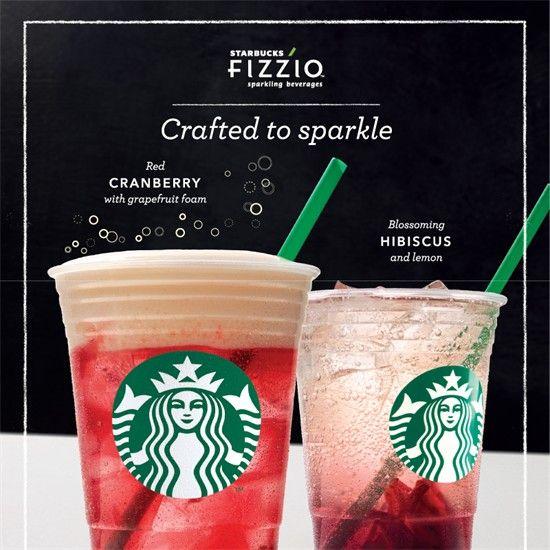 27 Jun-5 Jul 2016: Starbucks Fizzio beverage