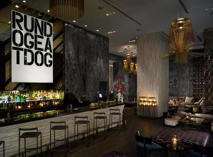 Living Room Bar At W South Beach Miami