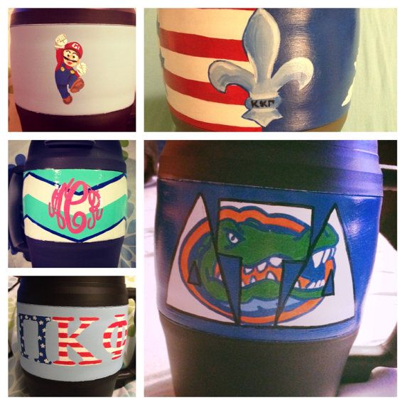 Custom Personalized 52 oz Bubba Keg by PaintTheTownChiv on Etsy