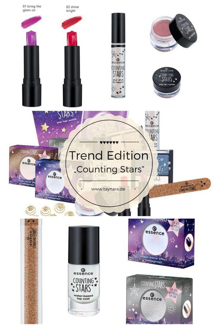 Die neue Trend Edition Counting Stars von Essence verspricht viel bunte Kosmetik. Nagellack, Make-Up, Kajal, Eyeshadow oder Lippenpflege. Die Edition bringt einen perfekt durch den kalten Winter!