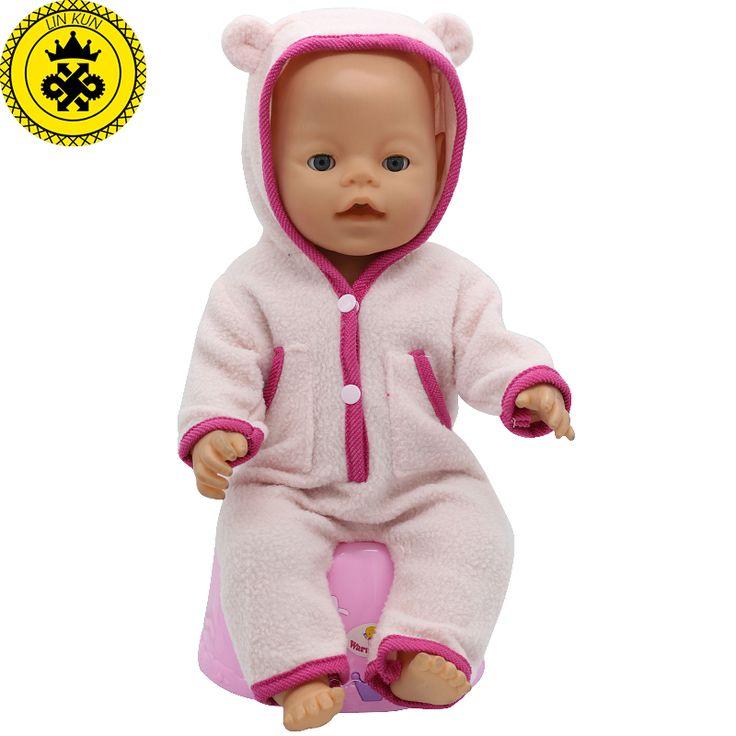 Baby Born Pop Kleding Fit 43 cm Zapf Geboren Baby Pop leuke Jassen en Jumpers Rompertjes Pop Kleding Kinderen Verjaardagscadeautjes T-6
