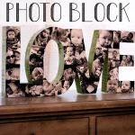 Wood Photo Block