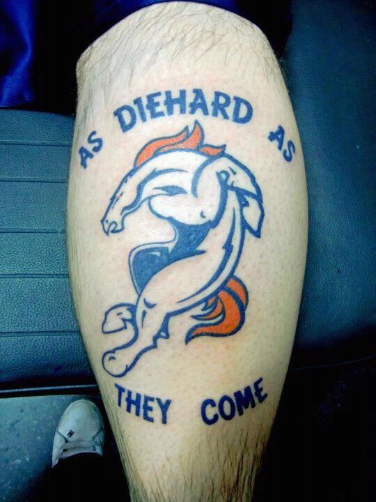 denver bronco tattoo | Denver Broncos Tattoo - Page 20