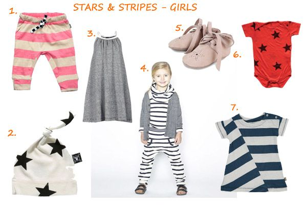 Trend kinderkleding SS15:  Sterren en strepen (inspiratie voor meisjes)