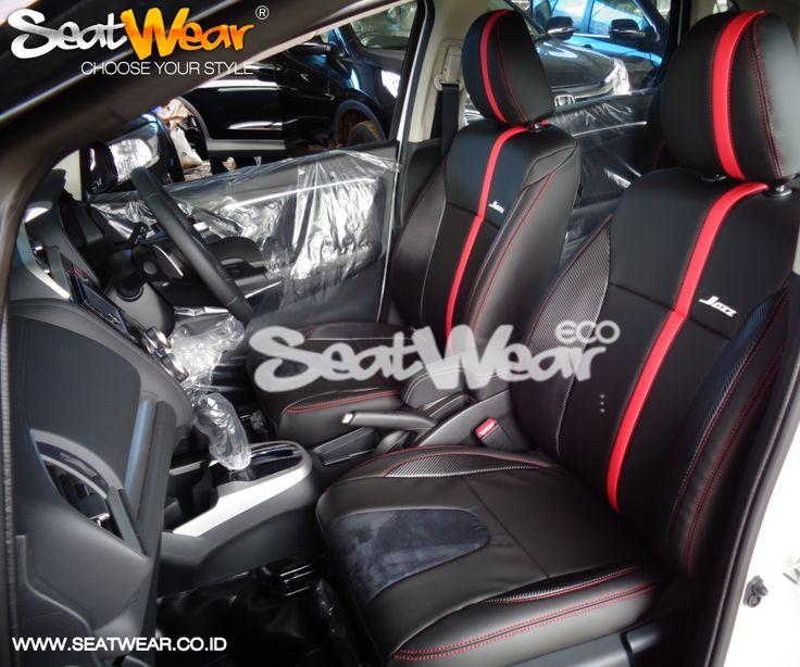 Sarung Jok Seatwear Honda Jazz Only IDR 2,800,000  Kelebihan Seatwear dibandingkan produk lain? - SeatWear menggunakan Kulit PU Import  - Memakai Busa 10 ml - Hasil Seperti Paten - Garansi 2 Tahun * - Pemasangan cepat tanpa bongkar jok  - Teknisi pemasang profesional - Gratis Pemasangan untuk wilayah JABODETABEKKAR  Untuk Pemesanan bisa datang langsung ke Dealer Honda terdekat atau bisa menghubungi sales kami : HP : 082122623568 BB : 7DD1372F  www.seatwear.co.id