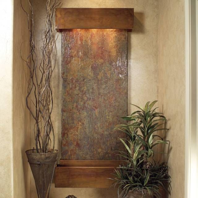 How To Integrate Interior Wall Fountains In Your Home: 1000+ Ideas About Indoor Waterfall Wall On Pinterest