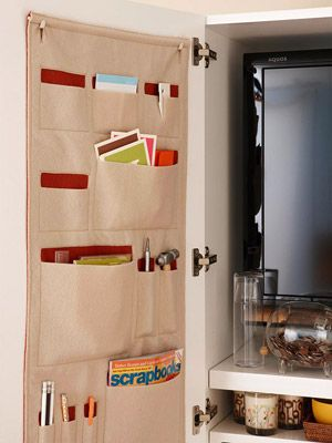 Hook and Hang Storage inside door chest & 74 best Organize using the backs of doors images on Pinterest ...