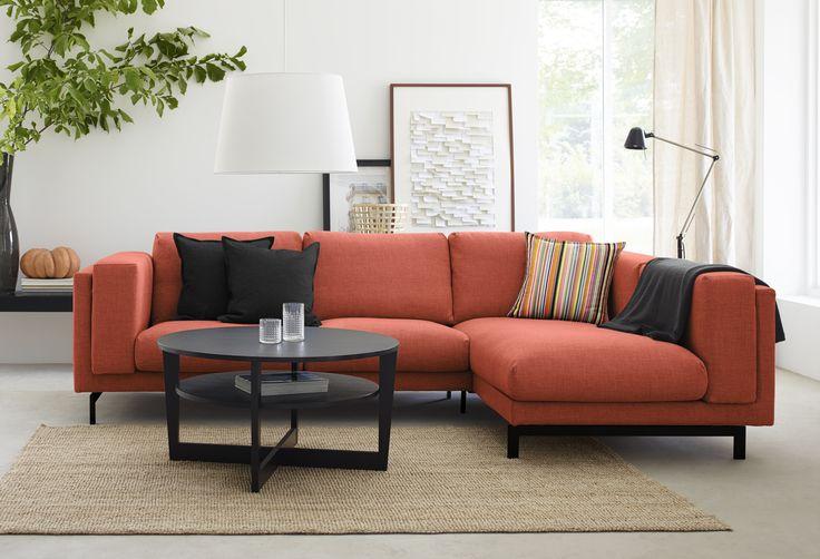Canapé d'angle Nockeby chez IKEA : Le canapé d'angle : l'indispensable du salon familial - Journal des Femmes