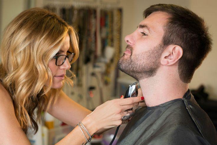 Grooming beard tips. How to line up your beard. #beard #groomedbymichelleharvey #mensgrooming