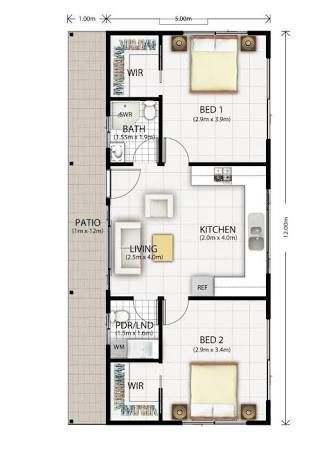 Image result for converting a double garage into a granny flat  ~ Great pin! For Oahu architectural design visit http://ownerbuiltdesign.com