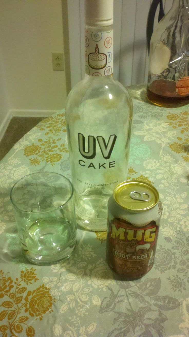 Anxiety and Coffee: Cake Vodka Mixed Drinks