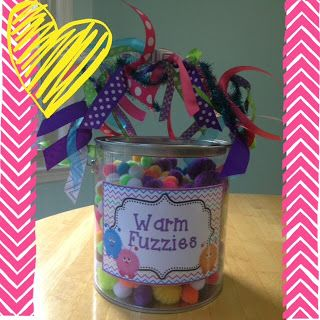 Warm Fuzzies Container, plus a Freebie