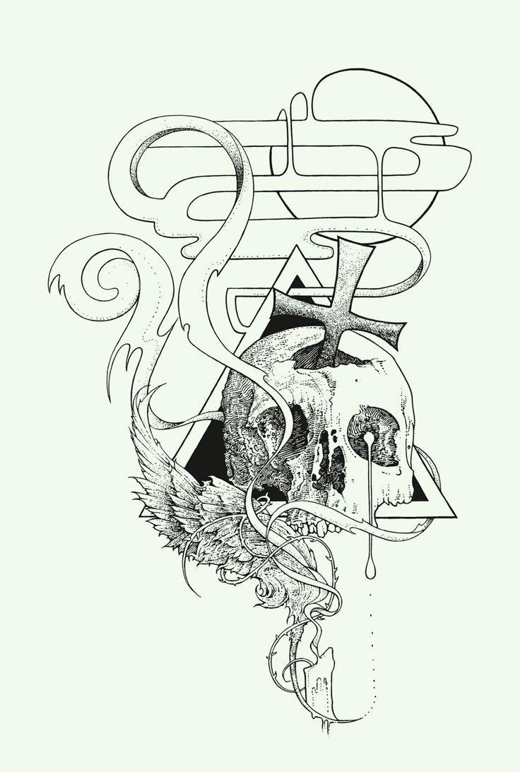 Owl greeting card set welsh artist jen delyth celtic art studio -  Skull And Cross 2013