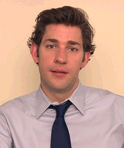When he giggles to himself and it's so cute, even he can't handle it. This is the best gif ever!!!!!!!!!!   34 Times John Krasinski Was The Most Perfect Man Alive