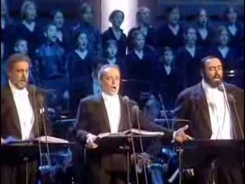 Magnificent! Bravo! Play this while you do your Christmas cooking, wrapping or just perusing Pinterest.  The Three Tenors   Christmas Concert Viena 1999), full