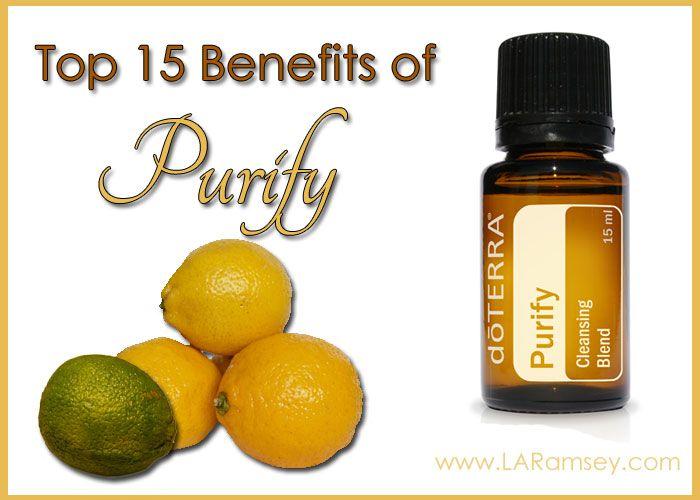 Purify Essential Oil Blend | http://www.laramsey.com/purify-essential-oil-blend/