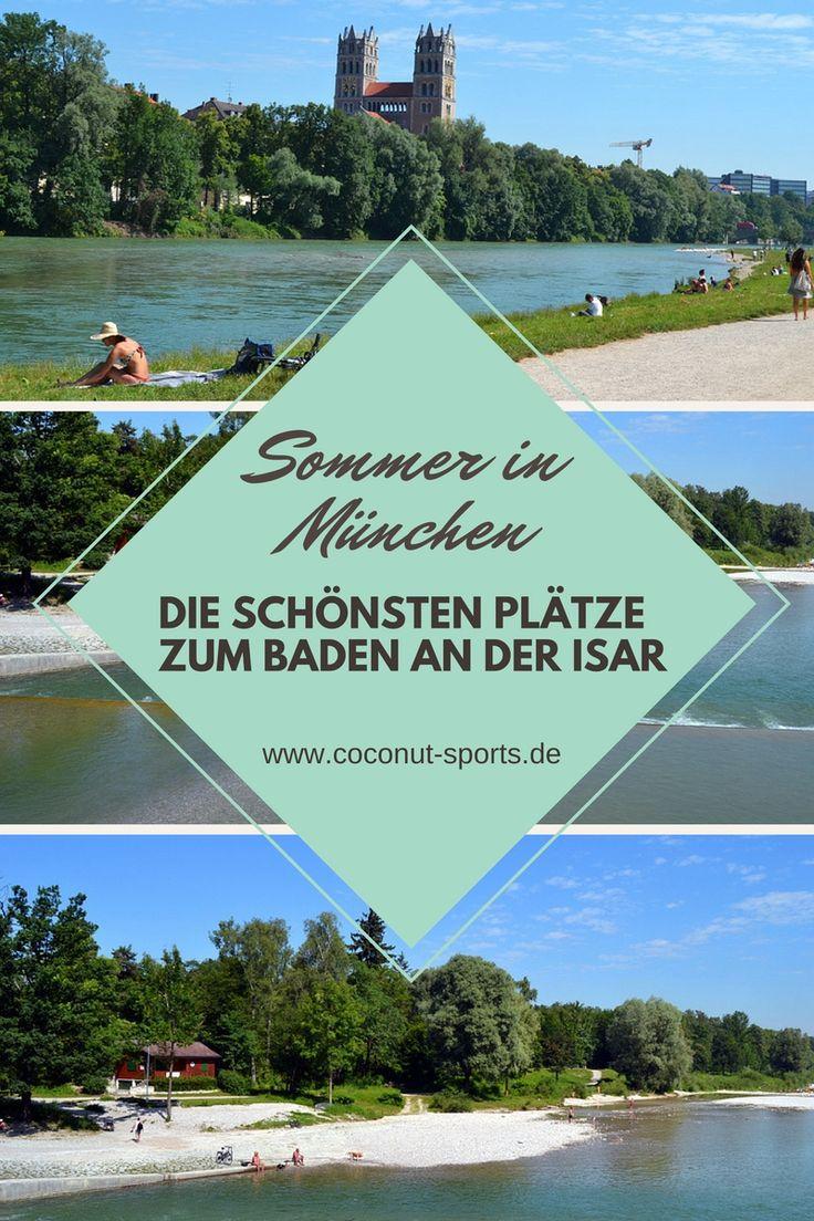 Besonders im Sommer sind die vielen Badestellen an der Isar ein Traum. Hier zeige ich euch die besten und schönsten Isarstrände in und um München.
