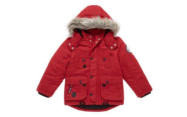 Braden - Red Parka Coat - Children - Tu Clothing At Sainsbury's ...
