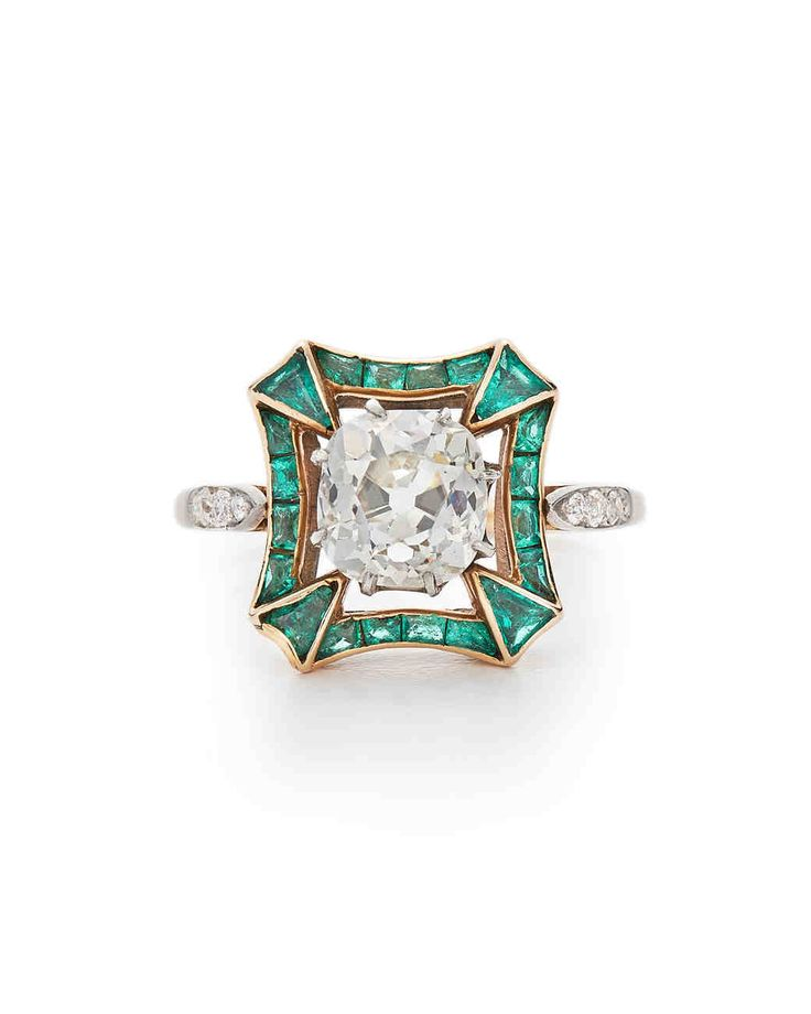 """Say """"yes"""" to these incredible colorful engagement rings."""