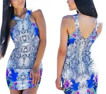 sukienka we wzory na Feegle