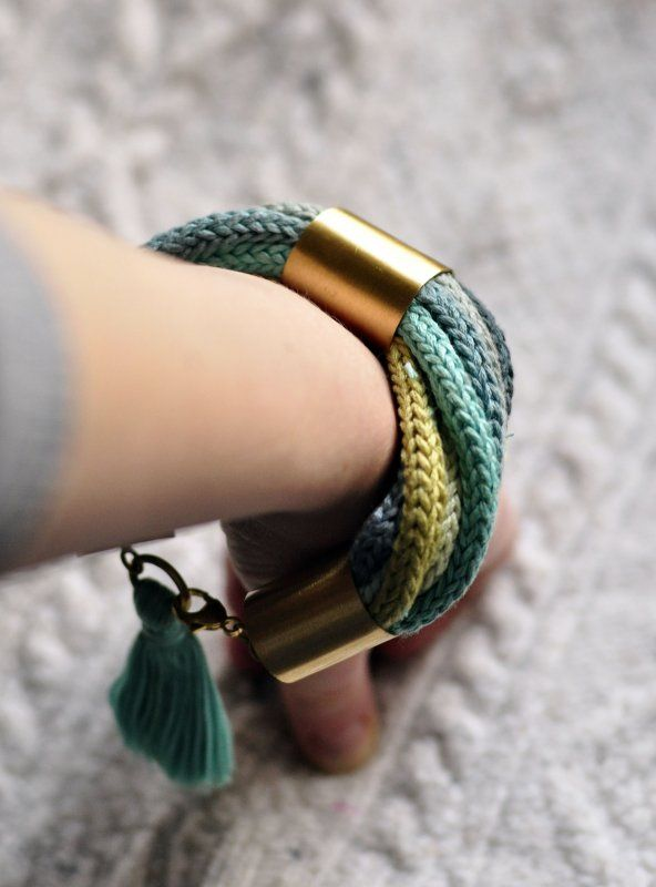 a nice idea to try. i don't know wether i would wear it though Bracelet diy