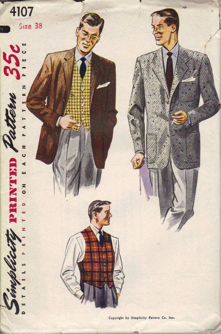 Vintage Mens Patterns 108
