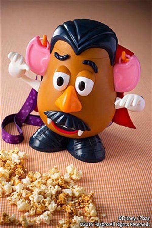 【PSL】Mr Potato Head Popcorn Bucket 2015 Halloween Vampire Tokyo Disneyland Japan