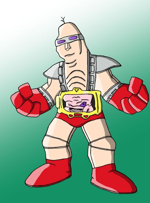 A new set of cool fan Punx today, check them out!   First, it's Craig coming in with his version of Krang from the classic Ninja Turtles too...