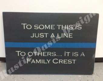 Do not be afraid Law Enforcement LEO Signs by RusticOasisDesigns