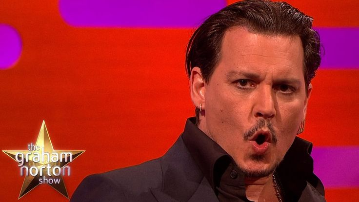 Johnny Depp Does A Great Donald Trump Impersonation - The Graham Norton ...