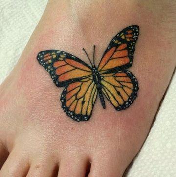 imagenes de mariposas para tatuajes monarca