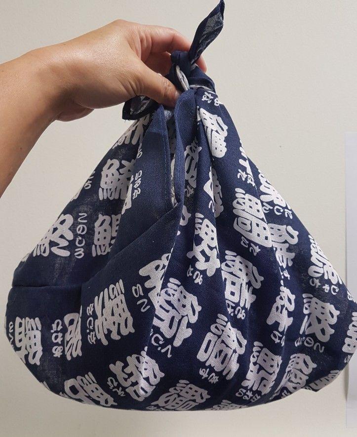 Azuma bukuro bag entirely hanstitched
