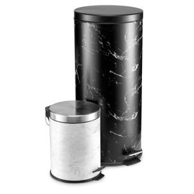 Marble Look Bins - Set of 2 $25