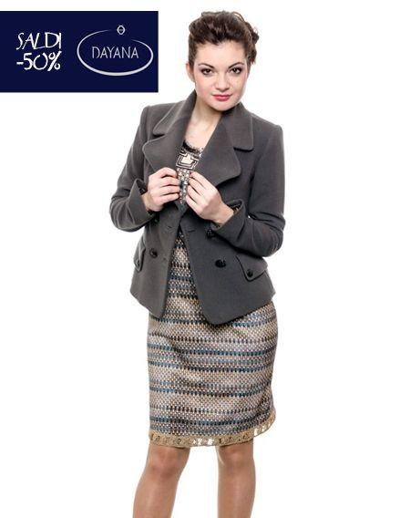 "GIACCA DAYANA IN LANA COLLEZIONE AI 2013/14 ""SALDI -50%""  #fashion #moda #sale #saldi #shopping #fw #woman #madeitaly #curvy #casual  http://www.dayanaboutique.com/shop/it/giacca/91-GIACCA-DAYANA-IN-LANA.html"
