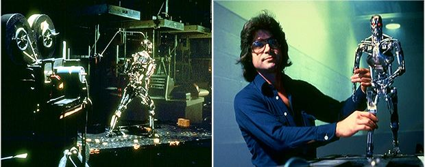 The Terminator stop motion visual effects.
