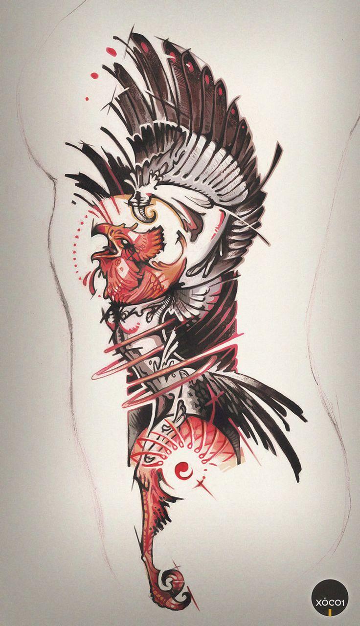 phoenix tattoo art by xocol4t4 pin it pinterest tattoo art phoenix and tattoo. Black Bedroom Furniture Sets. Home Design Ideas