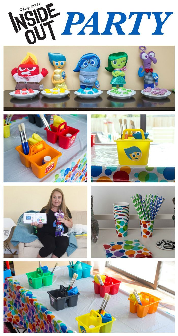 Inside Out Party #InsideOutEmotions #ad #CollectiveBias
