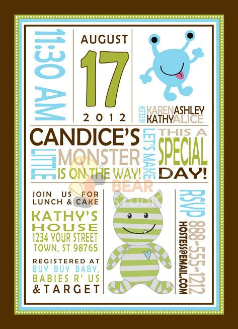 Baby Shower Printable Invitations as adorable invitations ideas