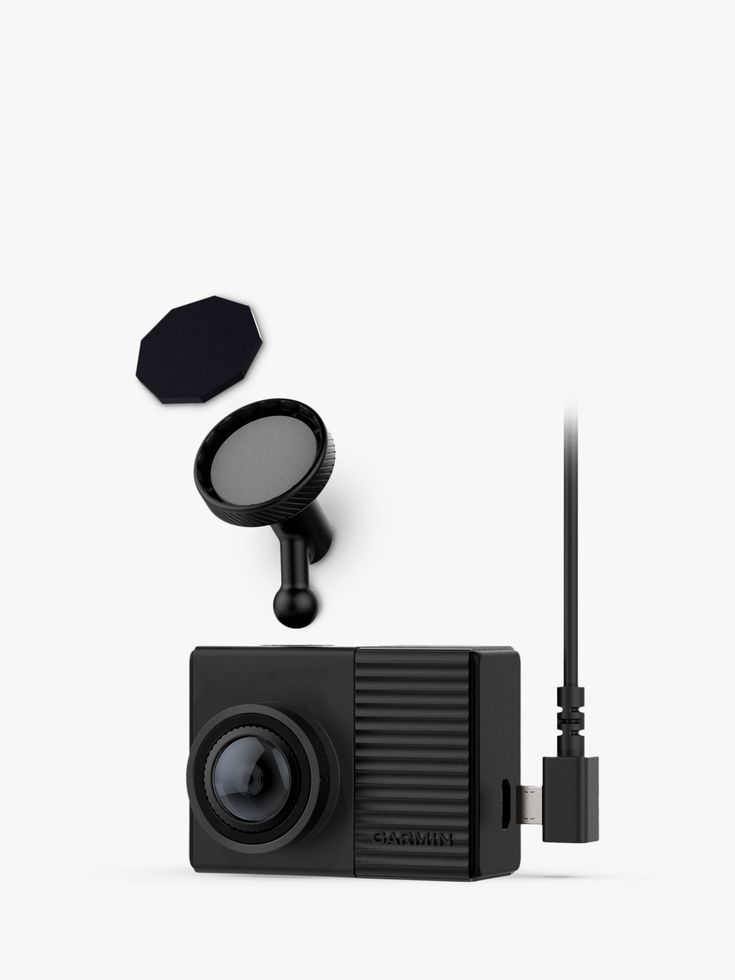 Garmin dash cam 66w 1440p hdr with 180 degree view gps