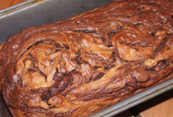 Nutella Banana Bread - Weight Watchers 4 points