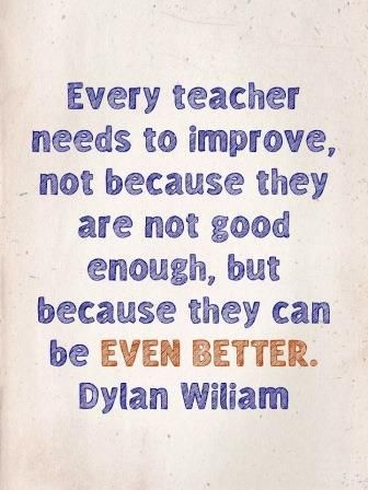 Dylan Wiliam's quote has become totemic for many teachers and school leaders as a driver for good quality CPD, and I am no exception. So much so, that we are reorganising our approach to CPD across...