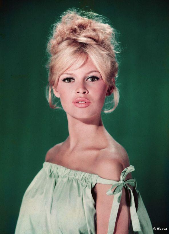 Brigitte Bardot, rayonnante en 1960.