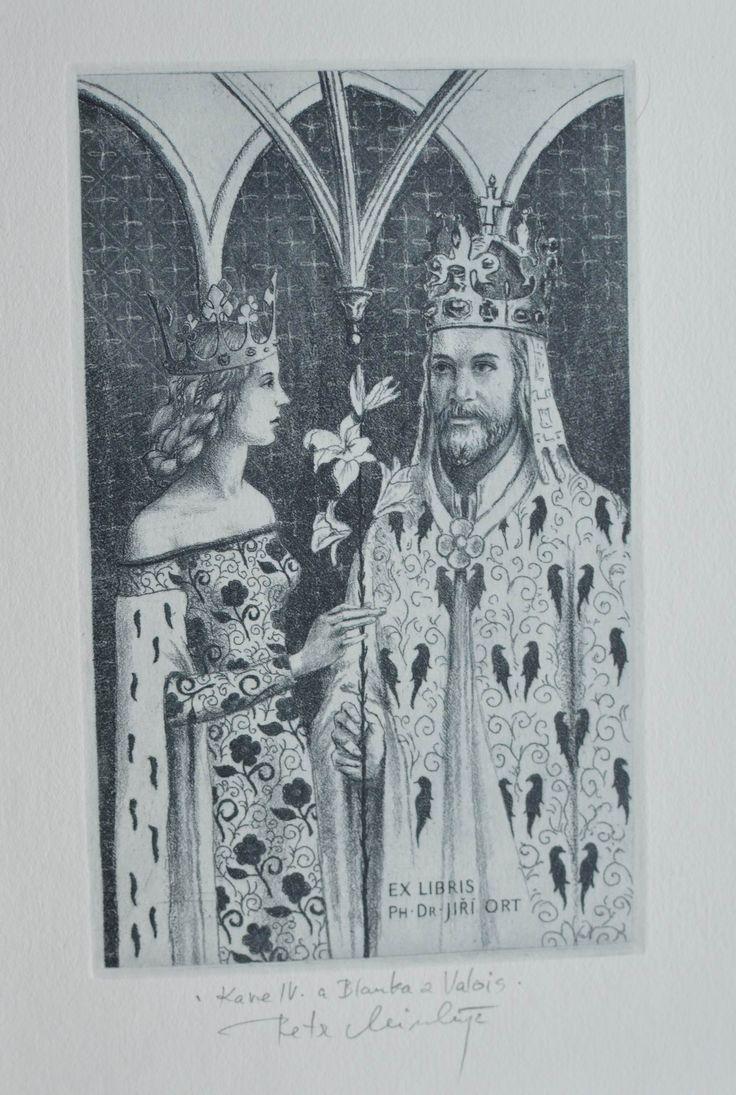Minka Petr-Karel IV. a Blanka z Valois